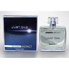 Мужская парфюмерная вода с феромонами Natural Instinct Just One - 100 мл.  Семейство: пряные, древесные, ориентальные.