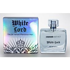 Мужская парфюмерная вода с феромонами Natural Instinct White Lord - 100 мл.  Семейство: древесные, зеленые, фруктовые.