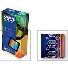 Презервативы CONTEX Colour, 12 шт.  Презервативы Contex   Берегите Любовь! Дизайн:Стандартные.