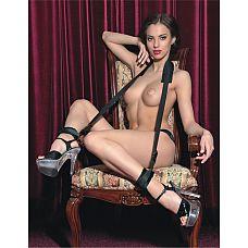 Фиксирующая стропа для поддержки ног  Фиксирующая стропа практически не ограничивает свободу, зато позволяет без усилий удерживать ноги под таким углом и в таком положении, чтобы партнеры получили наибольшее удовольствие.