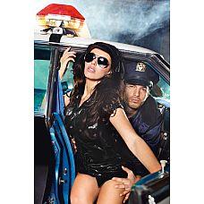 Игровой костюм  Девушка-полицейский   Создать волнующий образ и удивить своего любимого просто - игровой костюм  Девушка-полицейский  способен соблазнить любого мужчину.