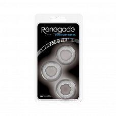Набор прозрачных эрекционных колец Intensity Rings   Набор из трех эрекционных колец Renegade - для бесчисленных комбинаций.