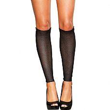 Сексуальные гетры со шнуровкой  Кто сказал, что гетры - элемент спортивного гардероба? Это аксессуар,, которым захочет обзавестись каждая уважающая себя модница! Гетры из черной нежной сетки с пикантной шнуровкой сзади - что-то новое и игривое для ваших повседневных образов!