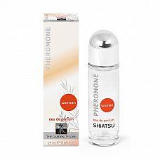 Женские духи с феромонами Pheromon Parfum - 25 мл.  Сильно концентрированный парфюм с феромонами, перед которым невозможно устоять.