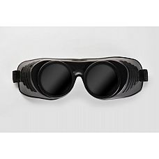 """Чёрная латексная маска  Крюгер  с чёрными окошками  Чёрная латексная маска """"Крюгер"""" с чёрными окошками"""