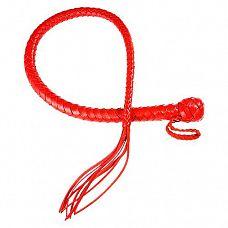 Красная плеть  Змея  - 60 см.  Плеть Змея представляет собой плеть без жёсткой рукоятки.