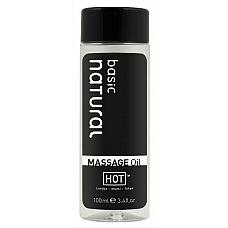 Массажное масло для тела Natural Basic - 100 мл.  Массажное масло для тела Натюрель.