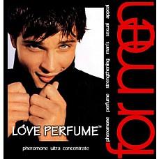 Концентрат феромонов для мужчин (Love Parfum), 10 мл.  Мужской концентрат феромонов, значительно увеличивающий мужскую сексуальную привлекательность. <br>Для тех, кто хочет немедленного эффекта! Сильнейшее средство привлечения женщин! Изысканный аромат для мужчины, знающего себе цену!