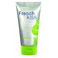 Съедобный лубрикант Frenchkiss с ароматом лимона - 75 мл.  Очень вкусный съедобный лубрикант для приятнейшего орального секса со вкусом и ароматом лимона.