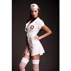 """Игровой костюм  Медсестра  из двух предметов   Костюм """"Медсестра""""."""