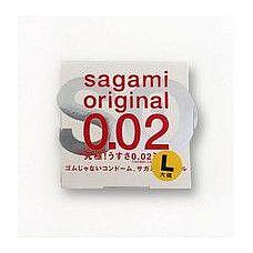 Презерватив Sagami Original L-size увеличенного Размера - 1 шт.  Презерватив Sagami Original L-size увеличенного Размера - большая длина и диаметр.