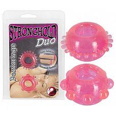 Набор из двух насадок-колец для мужчин  Две насадки-кольца для мужчин со стимулирующими пупырышками.