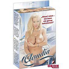 Секс-кукла Claudia  Кукла с белыми волосами и тремя отверстиями для любви. Выполнена в полный рост.