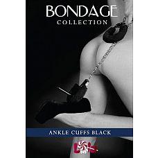 Меховые оковы на ноги BONDAGE черные 1020-01lola  Ваша ночь будет наполнена жаркими, незабываемыми ощущениями, если дополнять обыденные секс-игры эротическими игрушками, такими как меховые оковы на ноги.