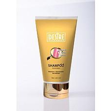 Женский шампунь DESIRE  с феромонами 150 мл.  Все хорошо знают, как долго волосы держат запах духов или шампуня. Его качественный состав не только сделает Ваши волосы шелковистыми, но и выделит вас среди всех окружающих. После использования, благодаря феромонам, волосы будут посылать окружающим импульсы о вашей сексуальности!<br><br> Эффект воздействия длится около 4 часов. Рекомендует сочетать с духами и блеском для губ.