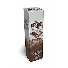Интимный гель-лубрикант DESIRE с ароматом шоколада, 60 мл.  Нежный гель с ароматом шоколада придаст вашим отношениям еще больше романтики и страсти.Прекрасно увлажняет кожу интимных мест, устраняя нежелательное ощущение сухости во время полового акта. Обеспечивает легкое и нежное скольжение для достижения максимального наслаждения.