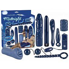 Эротический набор  Midnight Blue Set   Вибронабор.