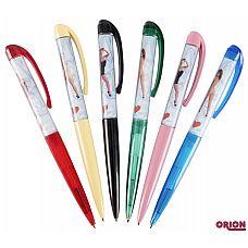 Ручка  Стриптизерша   Шариковая ручка - классический подарок.