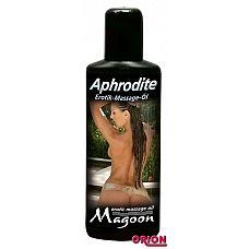 Массажное масло Magoon Aphrodite - 100 мл.   Эротическое массажное масло высокого качества, оно питает кожу и делает ее мягкой и гладкой.
