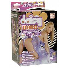 Секс-кукла Daisy с вибрацией  Кукла-любовница в натуральную величину в позиции doggy-style.