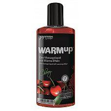 Разогревающее масло WARMup Cherry - 150 мл.   Высококачественное разогревающее массажное масло с ароматом вишни.