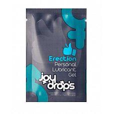 Возбуждающая мужская смазка JoyDrop Erection - 5 мл.  Возбуждающая смазка сертифицирована в России и ЕС.