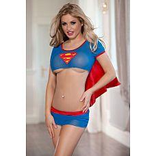 Костюм супервумэн   Костюм супервумэн.