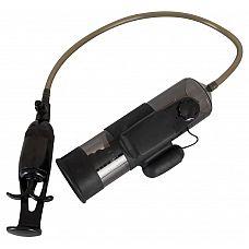 Помпа для пениса с вибропулей Vibrating Man Pump  Стильный мужской аксессуар классического черного цвета.