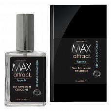 Свежий мужской аромат с феромонами MAX Attract Hypnotic 30 мл  Свежий и яркий мужской аромат с нотами виргинского можжевельника, произрастающего только в Северной Америке, дополняют его легкие оттенки древесных нот.
