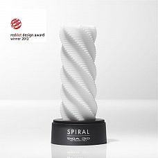 Ультра нежный мастурбатор Tenga 3D Spiral со спиралевидным рельефом  Tenga 3D Spiral само удовольствие в 3D от Tenga.