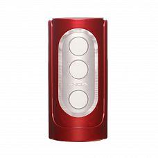 Красный фаллостимулятор Flip Hole   Мастурбатор Flip Hole в красной пластиковой колбе   пожалуй, самый совершенный фаллостимулятор от Tenga.