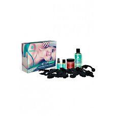 """Подарочный набор DONA Be Romanced Gift Set - Naughty  Подарочный набор DONA Be Romanced Gift Set Naughty с ароматом""""Шалость"""" - это сюрприз наполненный чувственными феромонами и афродизиаками, повышающими Ваше желание."""