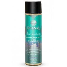 Гель для бритья DONA Naughty Sinful Spring - 250 мл.  Гель для бритья DONA Shave Gel  Sinful Spring с ароматом  Шалость .