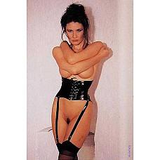 Сексуальный корсет Garter Belt   Эротический корсет на шнуровке с лямочками для чулков.