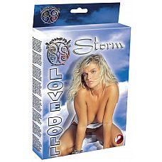Очаровательная блондинка Storm  Кукла любви  Шторм  - Ваш сексуальный партнер для диких любовных приключений.