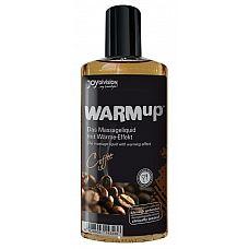 Разогревающее масло WARMup Coffee - 150 мл.  Пробуждает аппетит!   Высококачественное разогревающее массажное масло с ароматом кофе - попробуйте любимый напиток в необычной форме! Мягко массируйте вашего партнера этим маслом, стимулируя согревающим эротическим массажем самые чувствительные участки его тела.