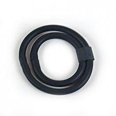 Кольцо на пенис черное BI-026014