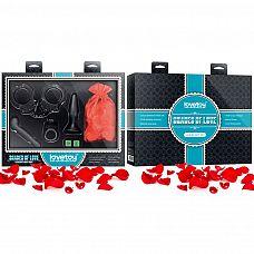 Подарочный набор Shades Of Love Luxury  Подарочный набор порадует ценителей БДСМ-развлечений.