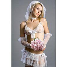 Костюм  Невеста Elle    Эротический костюм из нежнейшей сеточки.