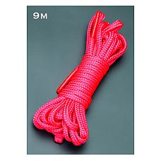 Веревка 9м. (красный)  Веревка для связывания - подходит как для новичков для простого связывания рук и ног, так и для истинных ценителей рабства.