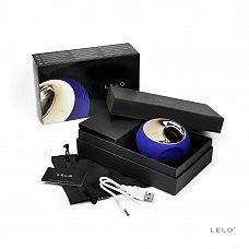 Синий вибромассажер для массажа клитора Ora 2 Midnight Blue   Синий массажёр Ora 2   новая, улучшенная версия вибростимулятора Ora от LELO.