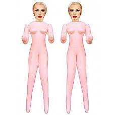 Набор из двух секс-кукол Virgin Twins  Познакомься с Virgin Twins Love Doll, сладкой, как конфеты, куклой.