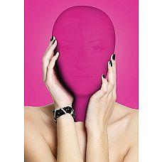 Закрытая розовая маска на лицо Subjugation  Это удобная маска, полностью закрывающая лицо, предназначена для натягивания на голову целиком.