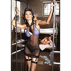 Игровой костюм  Игривая надзирательница   В отделении, которым заведует эта прелестная надсмотрщица, тишь да гладь.