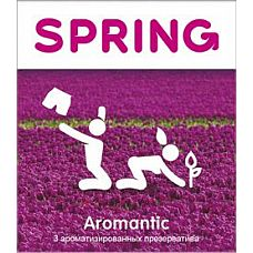Ароматизированные презервативы SPRING AROMANTIC - 3 шт.  Ароматизированные презервативы SPRING AROMANTIC.