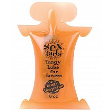 Вкусовой лубрикант с ароматом мандарина Sex Tarts Lube - 6 мл.  Наиболее ароматный лубрикант Sex Tarts^ Lube   это великолепное дополнение к обычному или оральному сексу.