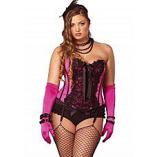Роскошный корсет Giselle в винтажном стиле  Любите винтаж? Предпочитаете красивую утонченную женственную одежду? Тогда этот корсет обязательно придется Вам по вкусу.