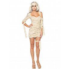 Карнавальный костюм мумии  Для тех, кто хочет быть оригинальным и любит выделяться из толпы.