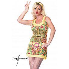 Костюм красотки-хиппи  Яркий и веселый костюм девушки-хиппи.