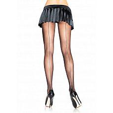 Колготки со швом сзади Leg Avenue  Сексуальные колготки со швом сзади.